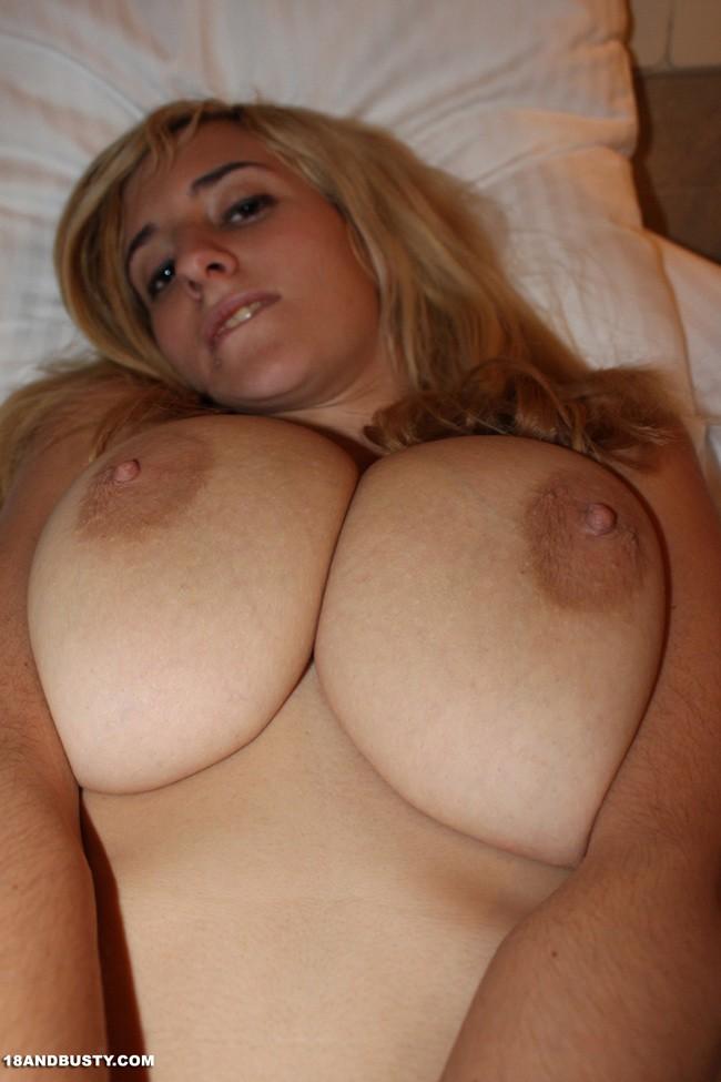 Curly Hair Big Tits Amateur