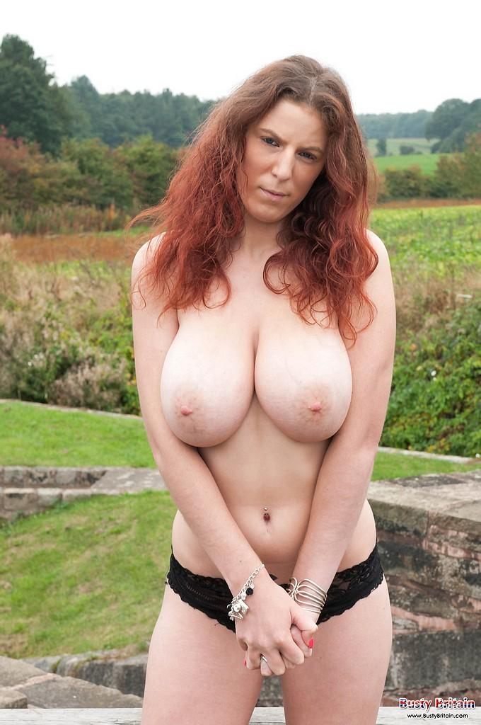 Huge Natural Bouncing Tits