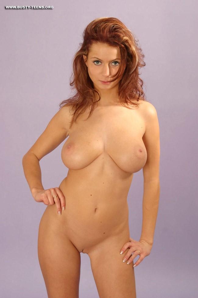 Red Head Big Tits Pornstar