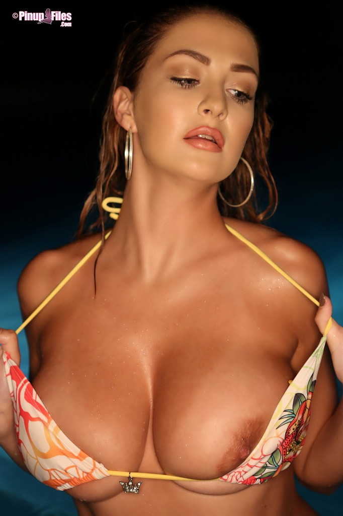 Tits Hanging Out Of Bikini