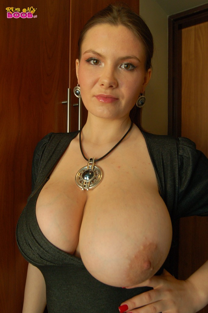 Hairy Big Natural Tits Solo
